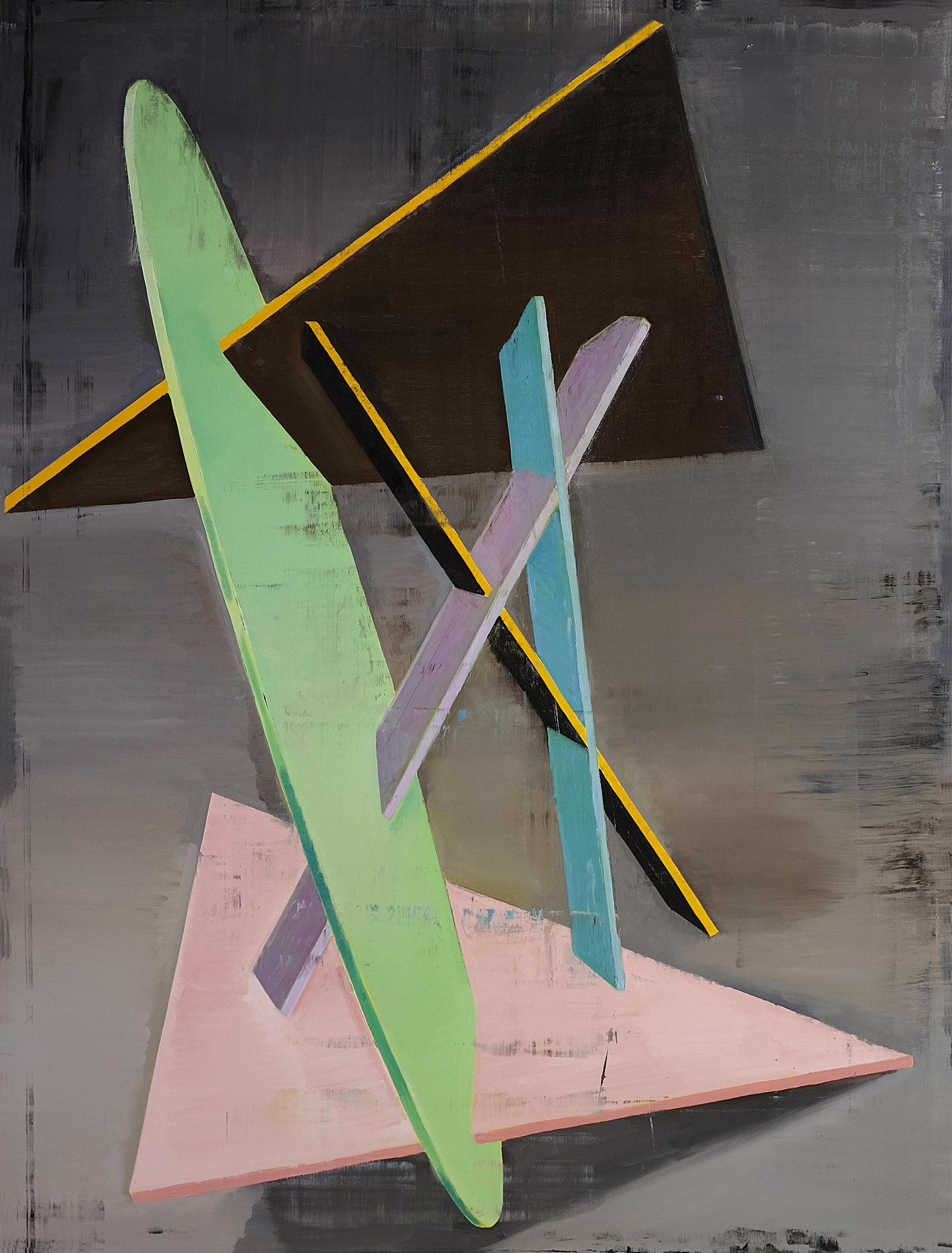 Genti Korini: Structure Nr. 4. 2018