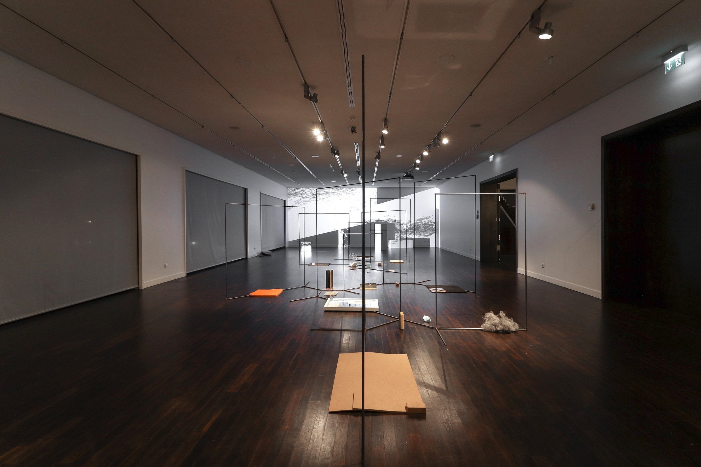 Clustering Illusions, 2017, installation view at Collegium Hungaricum Berlin