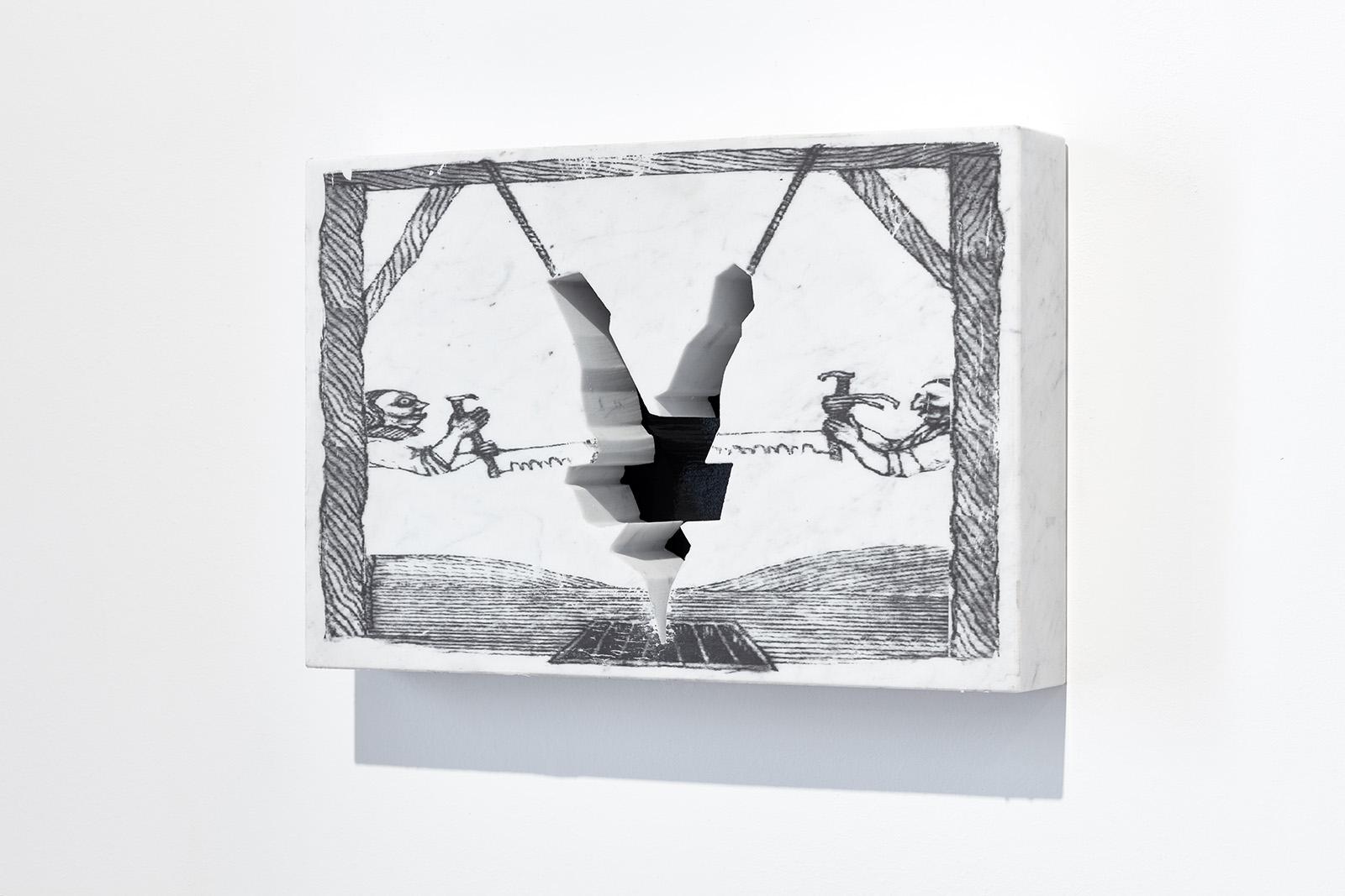 Borsos Lőrinc: Saw (H-4 -), 2019