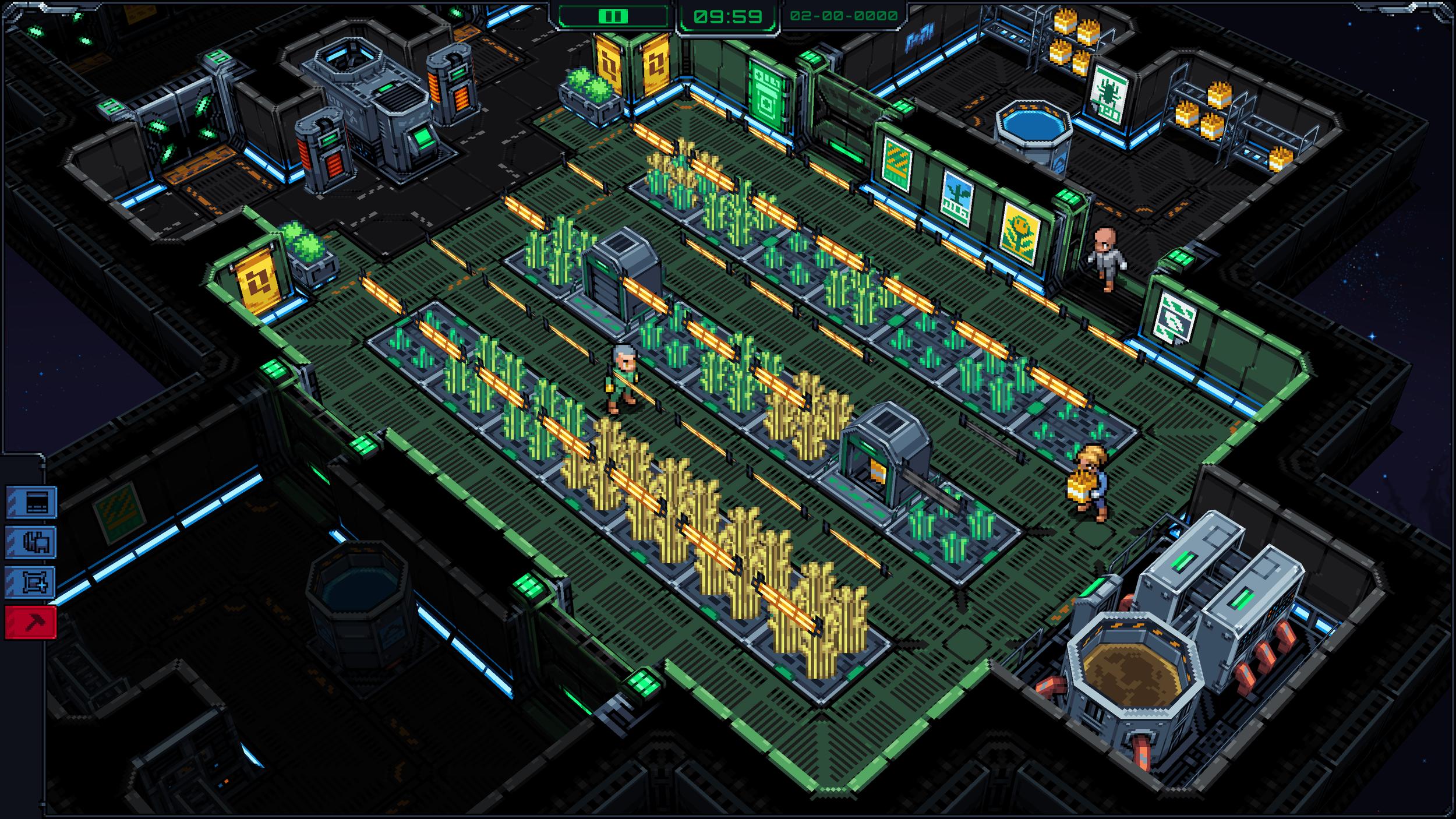 Wheat farm, and random infrastructure