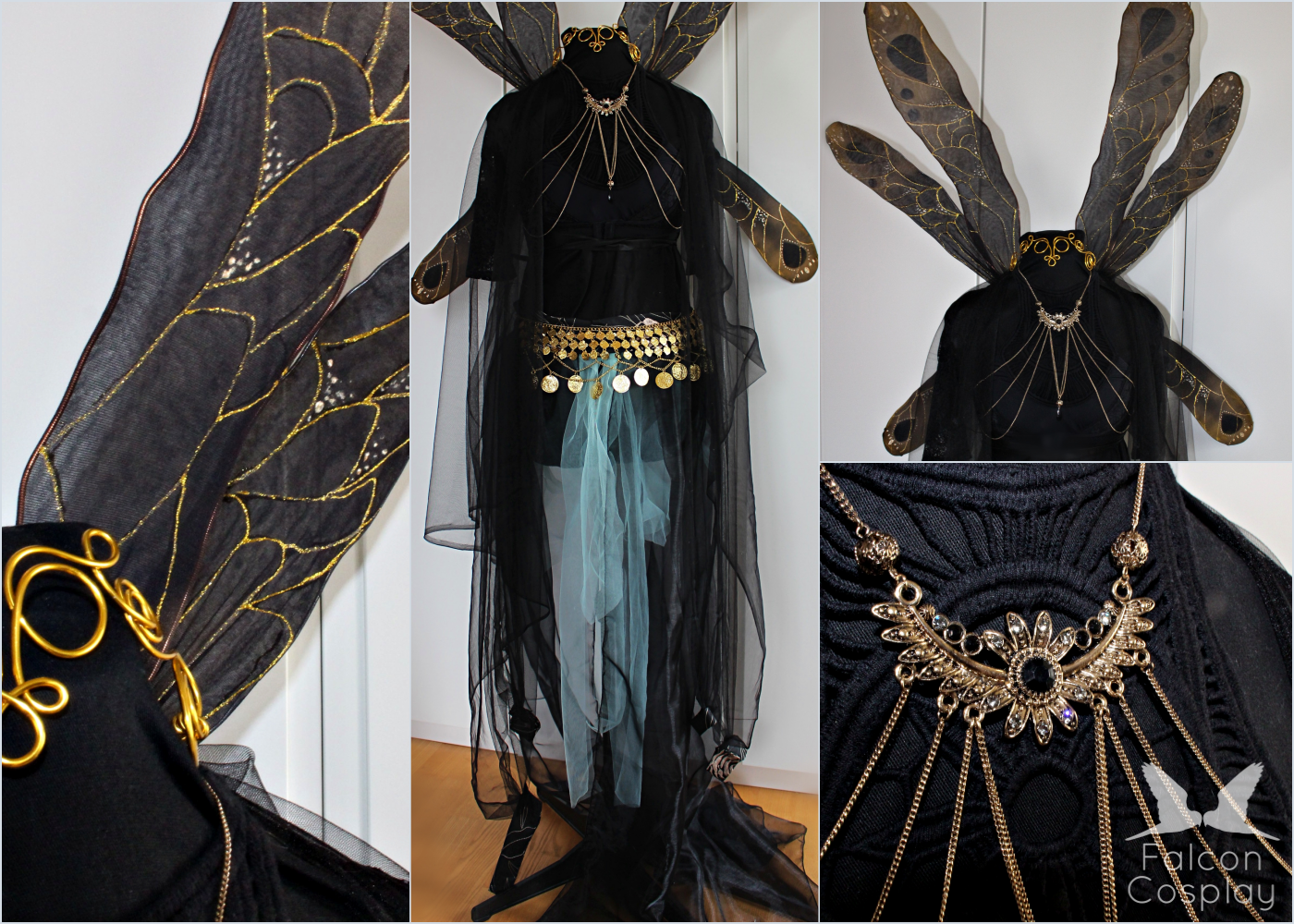 Costumes - Since a few years we love to create costumes, especially own designs are what we like! From fairies to warriors every costume is made with joy and an eye for details!