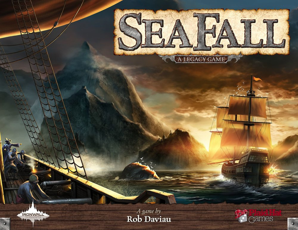 JR developed this heavy Legacy game for designer Rob Daviau. Cody and Brian were testers.