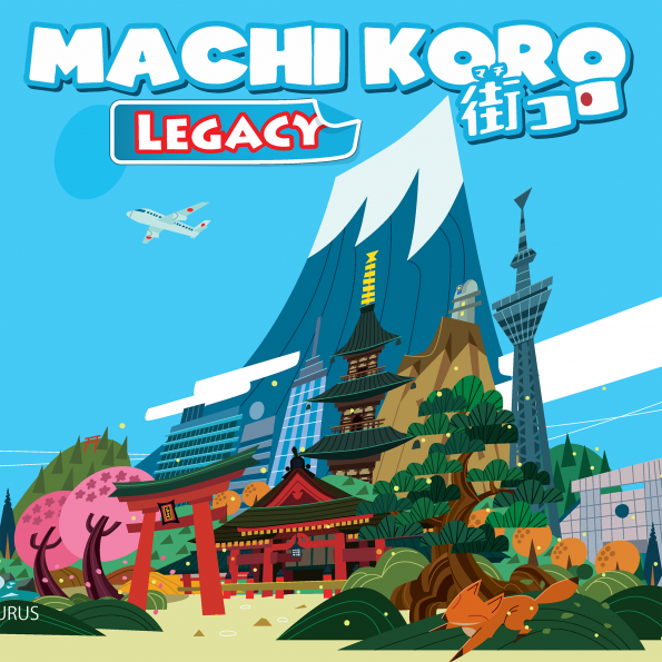 JR's co-design with Rob Daviau introduces players to a narrative campaign in the world of Machi Koro.