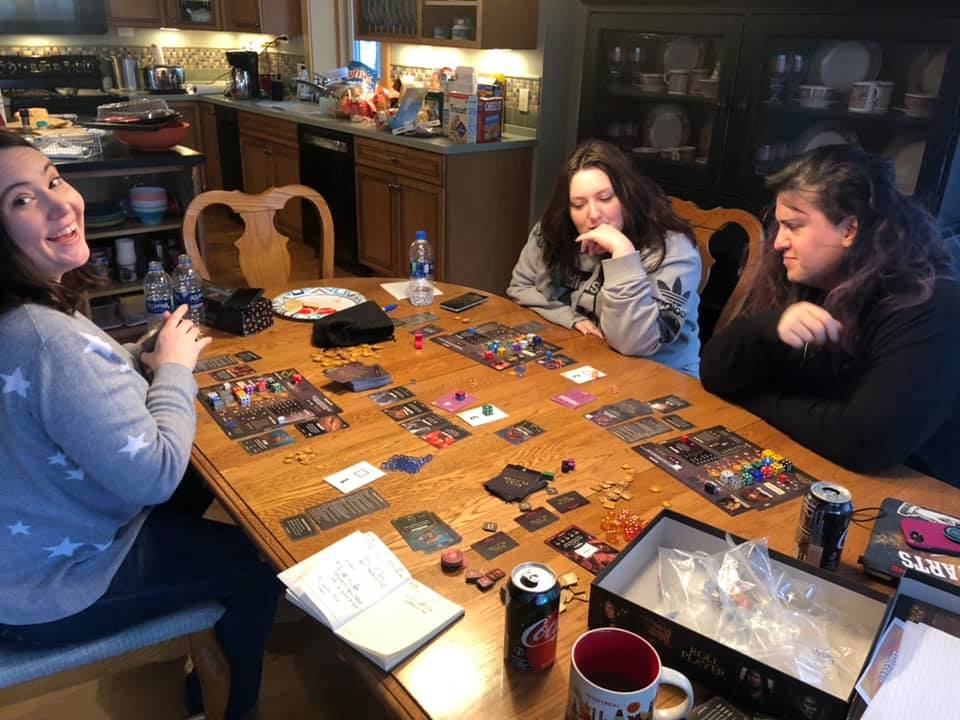 An artist, a marketing director, and a game design teacher sit down at a table…