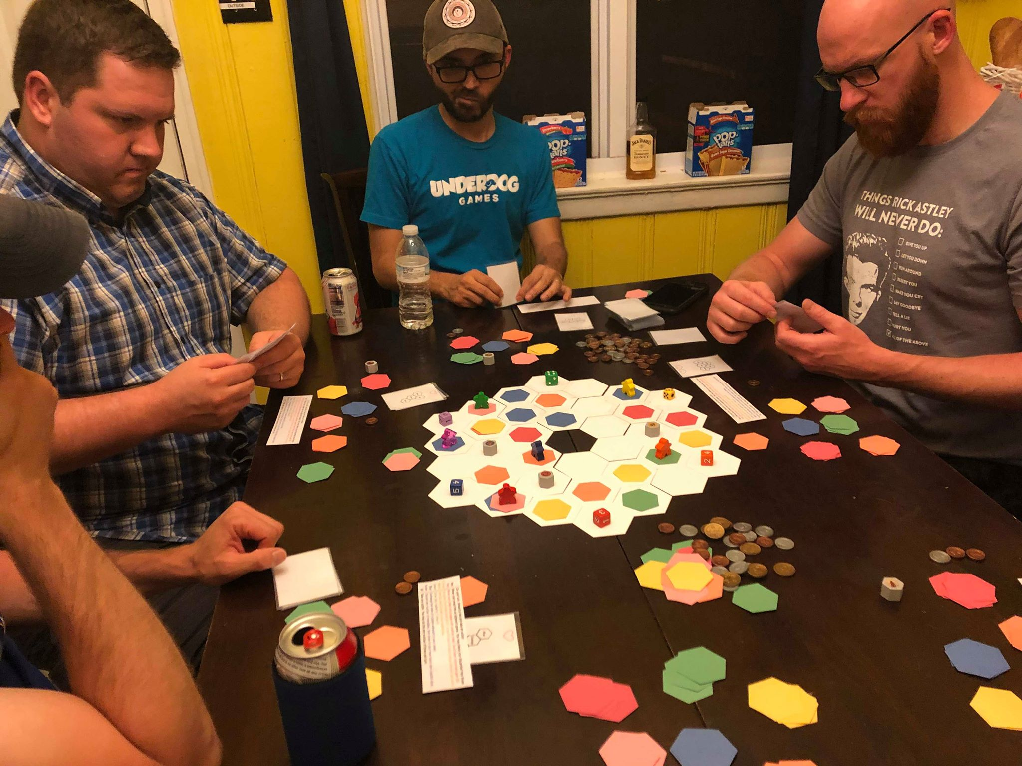 An updated version of Chromium, a gateway tile-laying game from Waitress Games co-founder JR Honeycutt