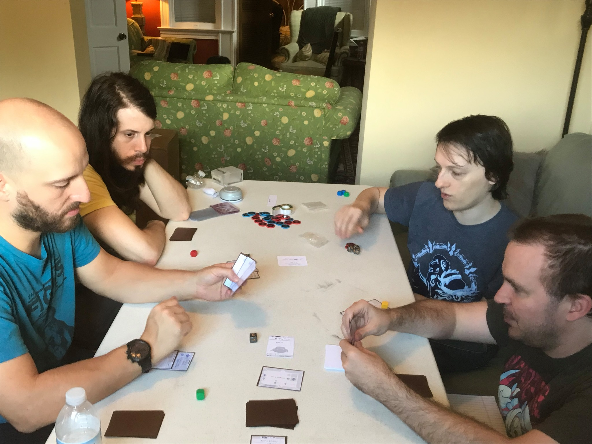 Early prototyping of a new card game!