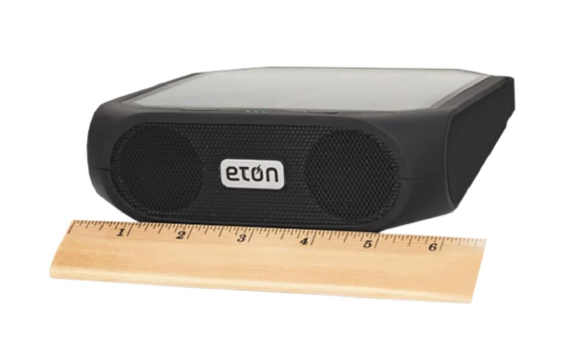 Eton Rugged Rukus Solar-Powered Bluetooth Speaker