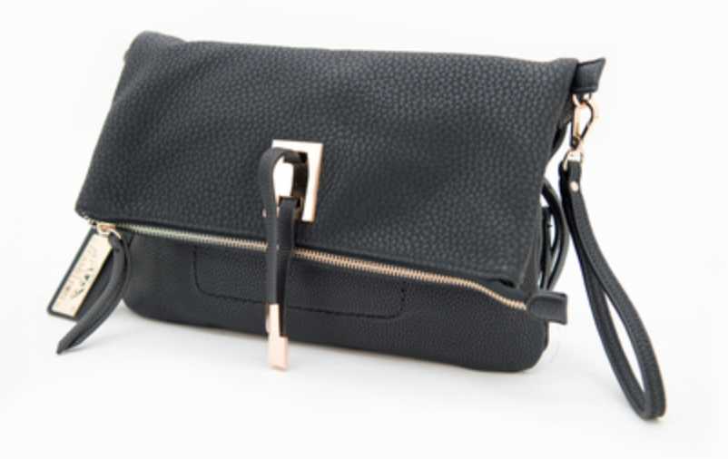 Aya Concealed Carry Clutch or Crossbody Bag, GunGoddess.com, $79.99 - The concealed carry pocket on this one is located in the back, and the three-sided zipper allows for easy access to the handgun from multiple angles.   Plus, with the removable strap, I love how this can easily switch to a clutch for a night out.Photo Credit: GunGoddess.com