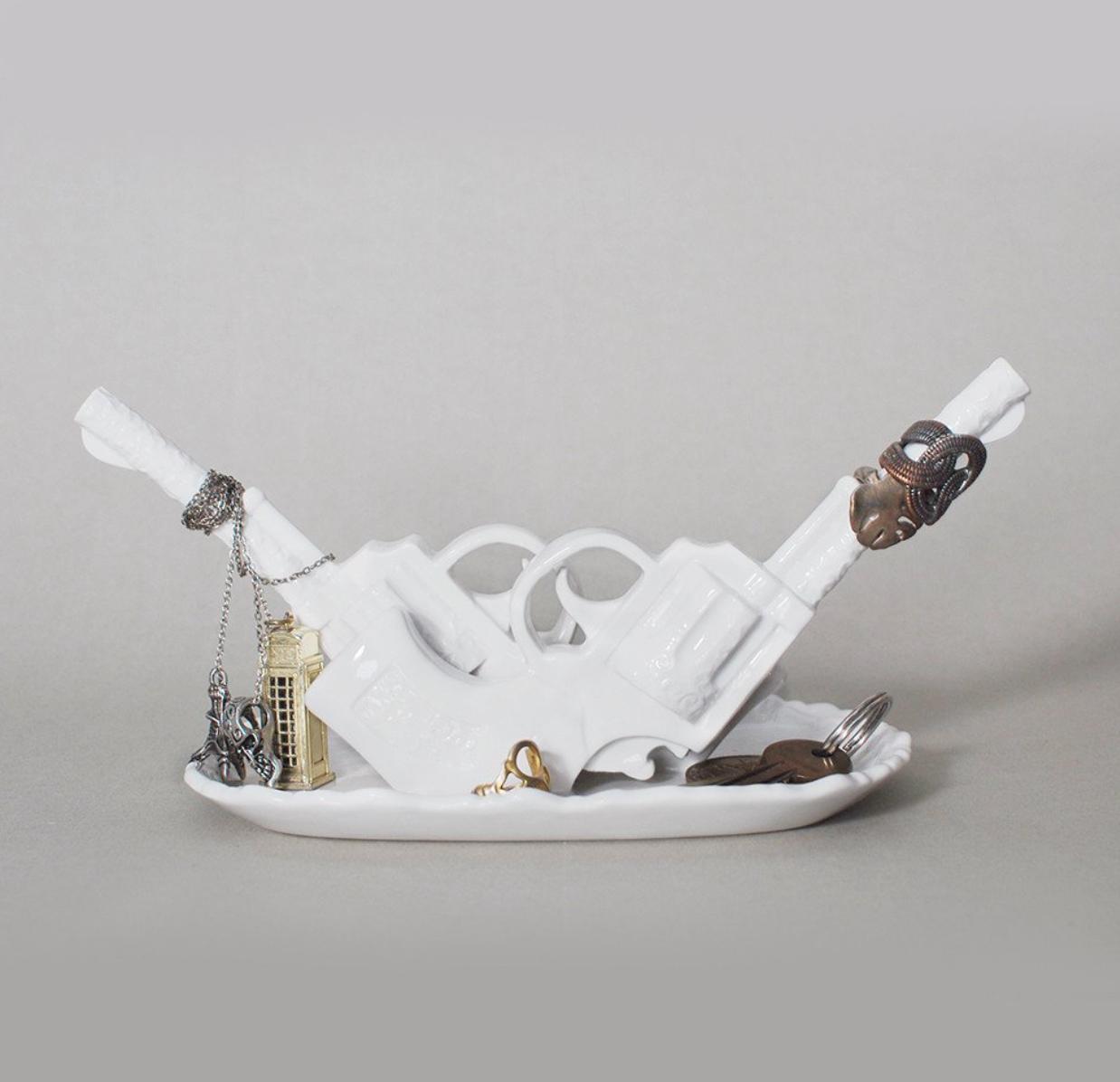 IMM Living, Duello Series Gun Jewelry Holder, $56.65 - Photo Credit: IMM Living