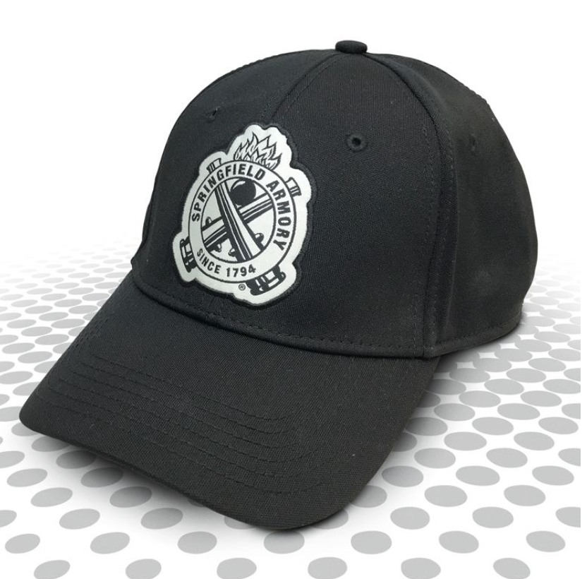 Springfield Armory Cross Cannon Cap in Black, $12  Photo Credit:  Springfield Armory