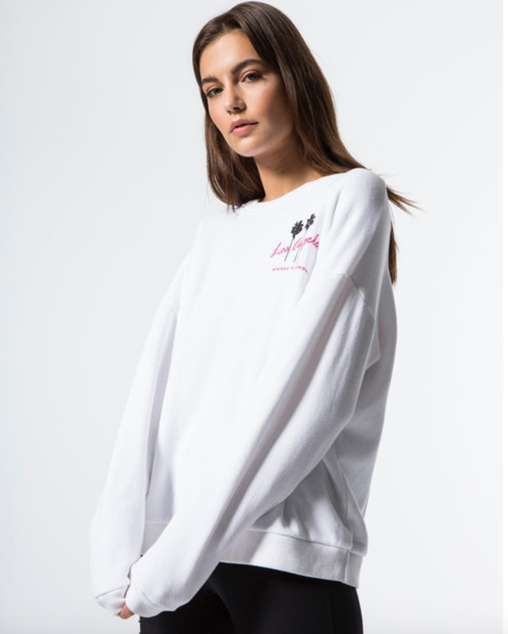 Winter's Playground Sweatshirt in White from LNA, $110  Photo Credit:  Carbon 38