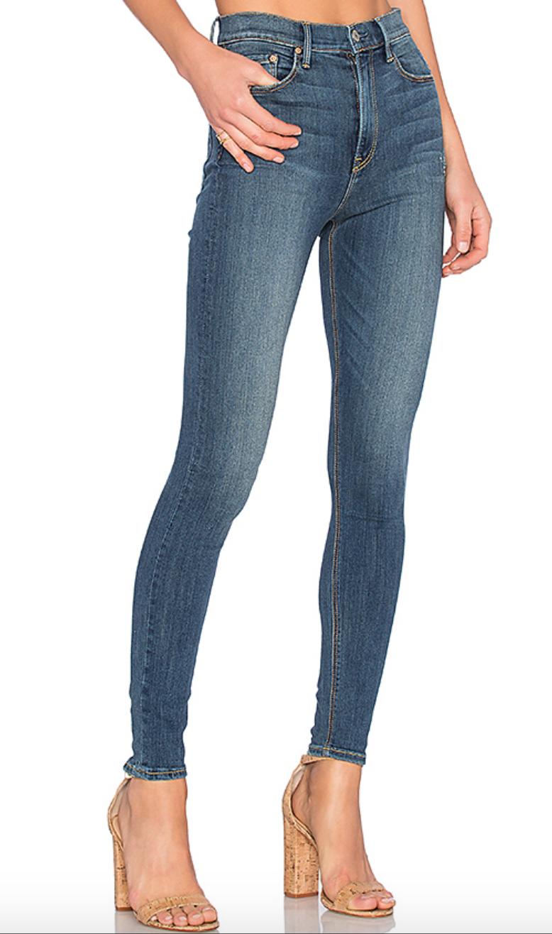 Kendall High-Rise Super Stretch Skinny Jean, $198  Photo Credit:  Revolve.com