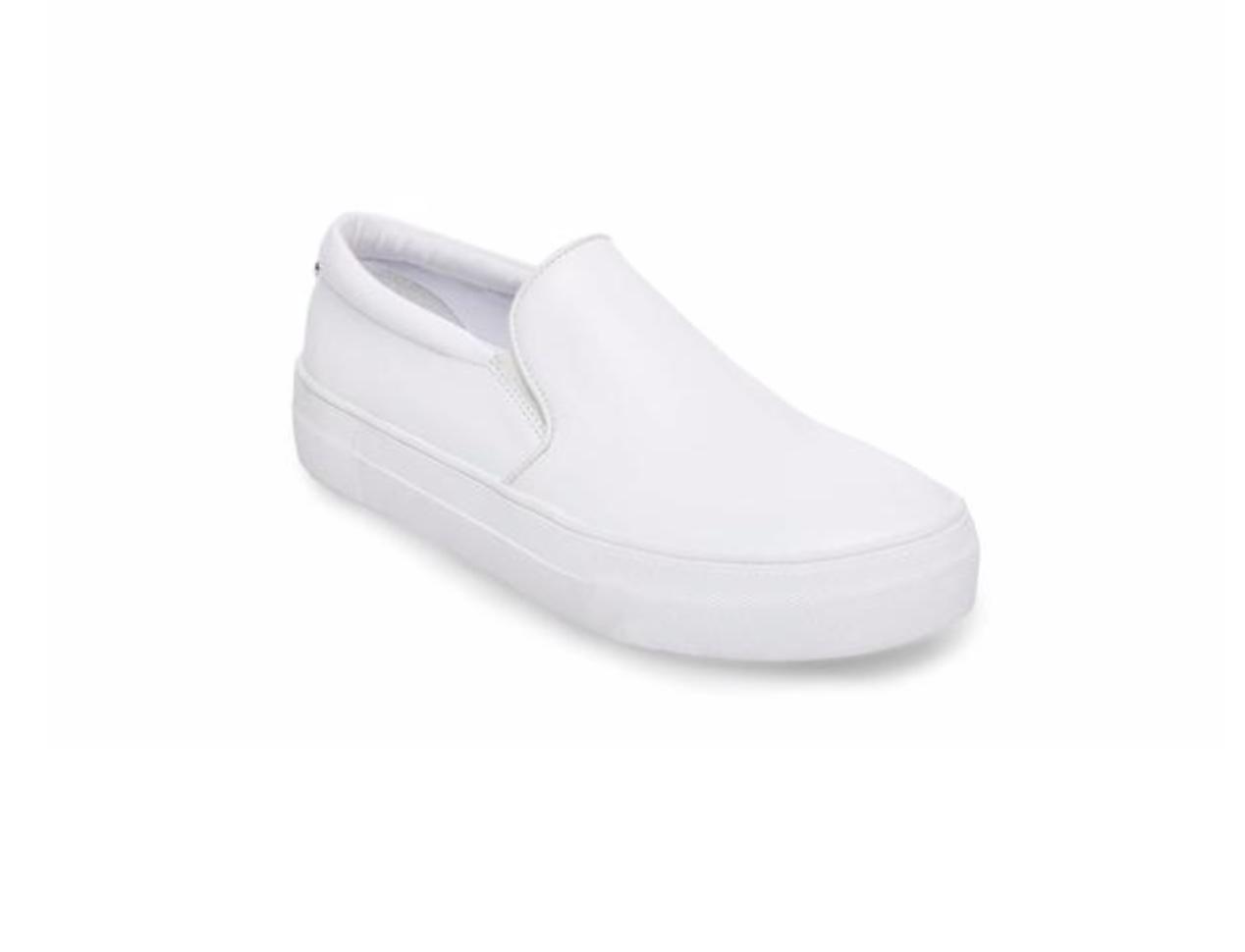 Gills White Leather Sneaker by Steve Madden, $79.95  Photo Credit:  Steve Madden