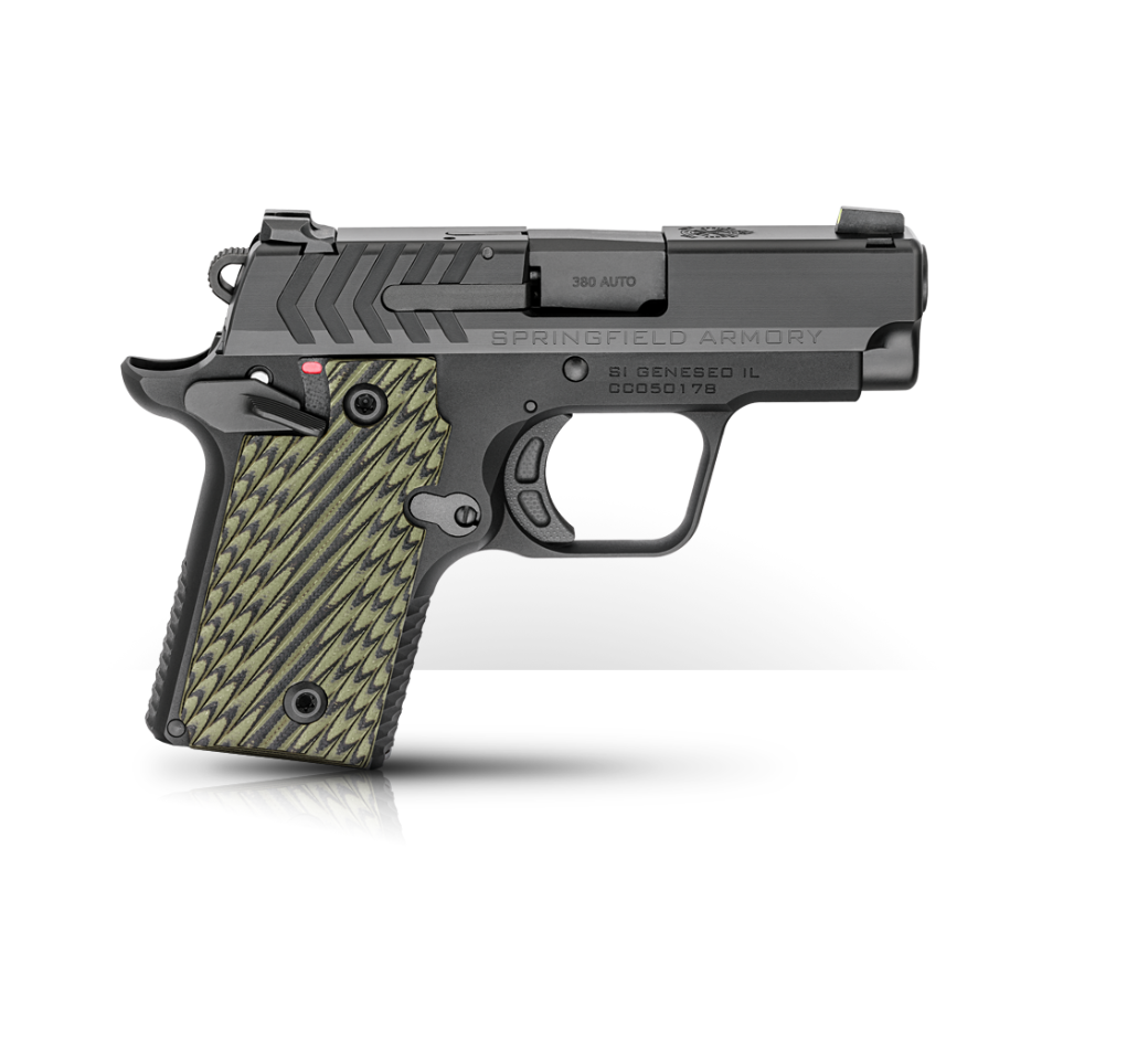 Springfield Armory 911 .380 in Black Nitride, MSRP $599  Photo Credit:  Springfield Armory