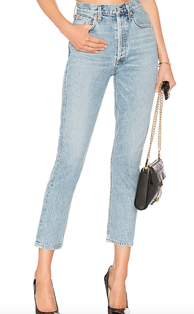 Riley Jeans by AGOLDE, $188  Photo Credit:  Revolve