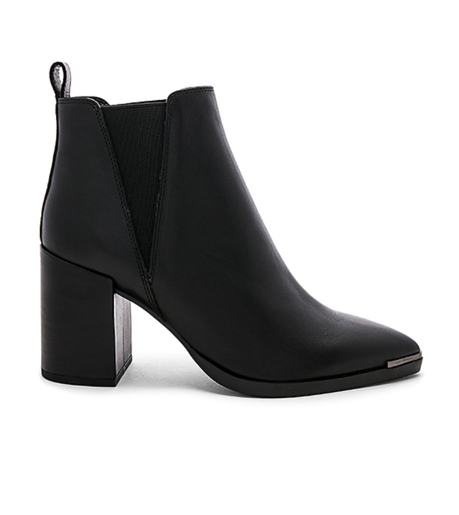 Tony Bianco Bello Bootie (available for preorder!), $166  Photo Credit:  Revolve