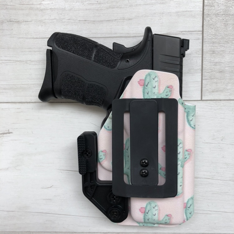 Mermaid Tarpon Scale Holster by Southern Bullets x Wingman Holsters, $80