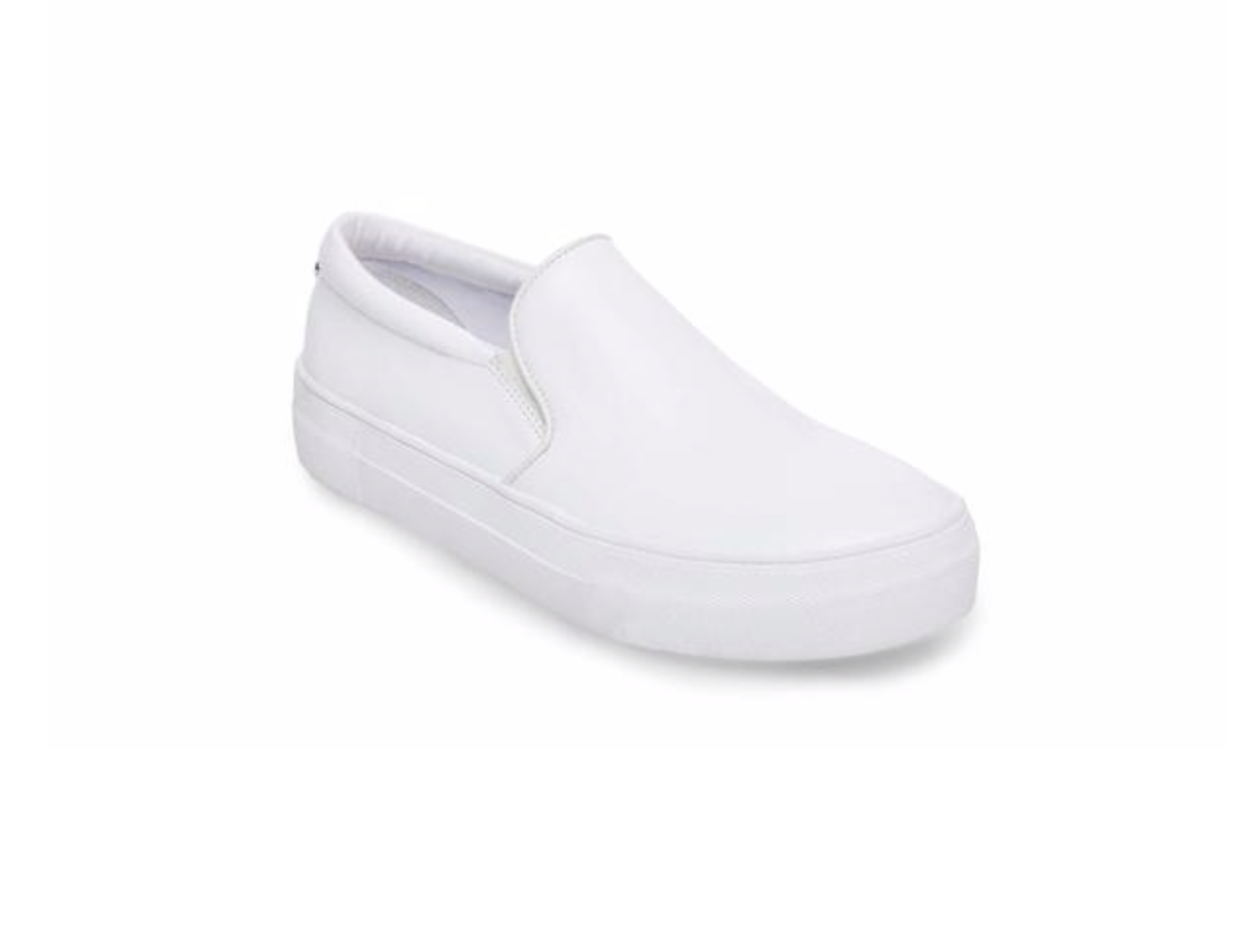 Gills White Leather Sneaker, $79.95  Photo Credit:  Steve Madden