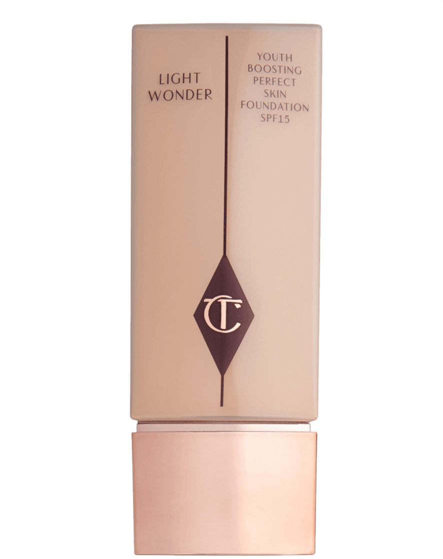 Light Wonder Foundation - Charlotte Tilbury, $46This foundation is my favorite foundation I have ever owned. Although it's called a foundation, it really feels more like a tinted moisturizer on your face but with the added benefit of more coverage. This stuff really is the perfect balance between light and flexible while still disguising flaws and discoloration. But you won't be left feeling like your skin is hiding under makeup all day.This is the foundation that I mix with the Lumi glow drops and they work so, so well together. Although I love this foundation even when it's on its own.The color that I use is Shade 4 (Fair).