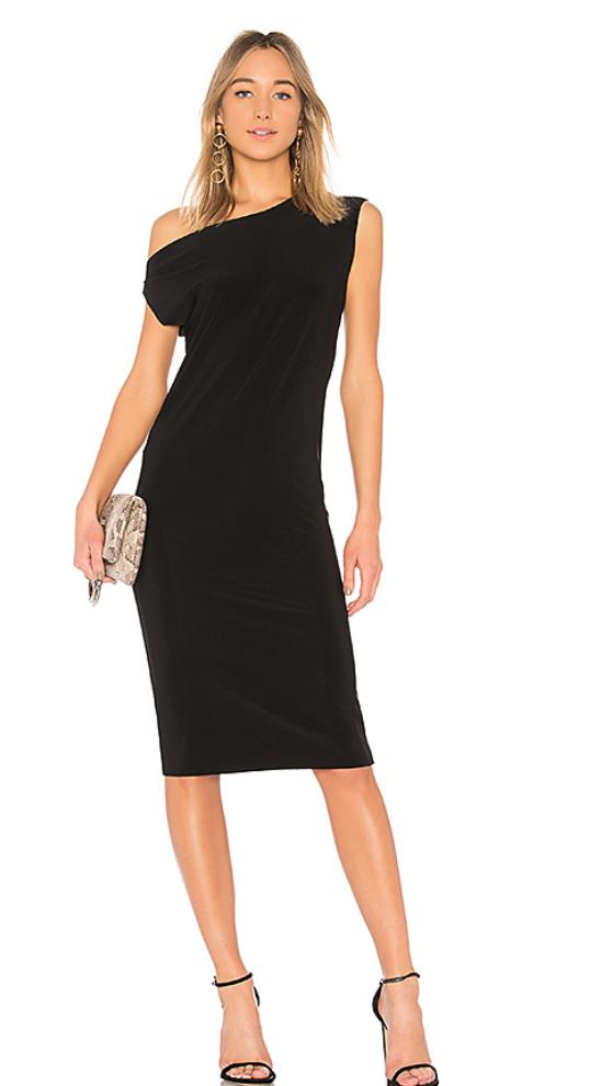 Drop Shoulder Sleeveless Dress