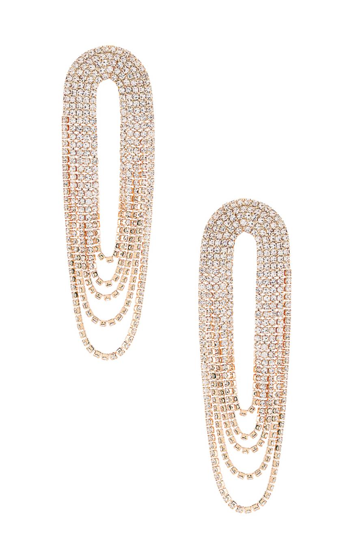 Draped Rhinestone Earrings - Ettika, $60Photo Credit: Revolve