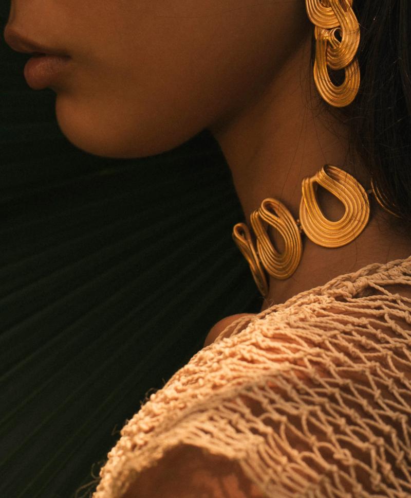 Panorama Earrings - CANO, $300Photo Credit: Moda Operandi