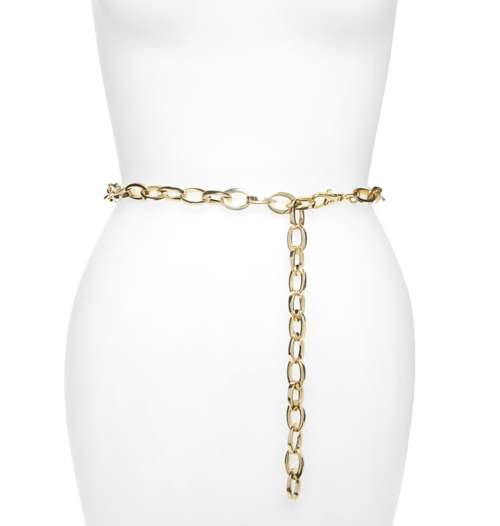 Chain Belt - Halogen, $39Photo Credit: Nordstrom