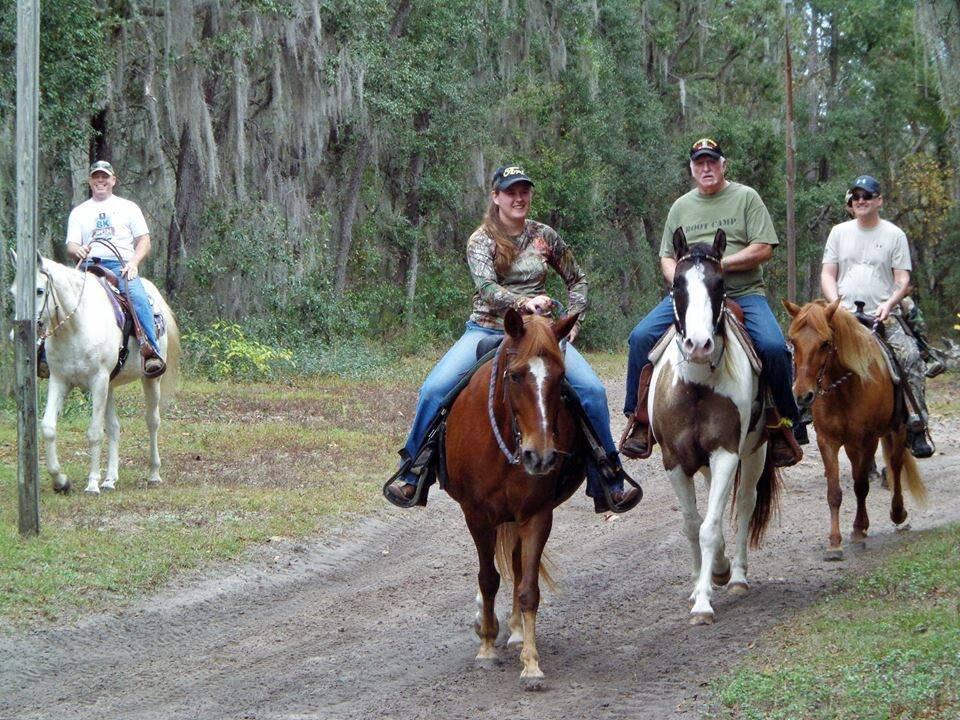 Trail Ride Olde Florida