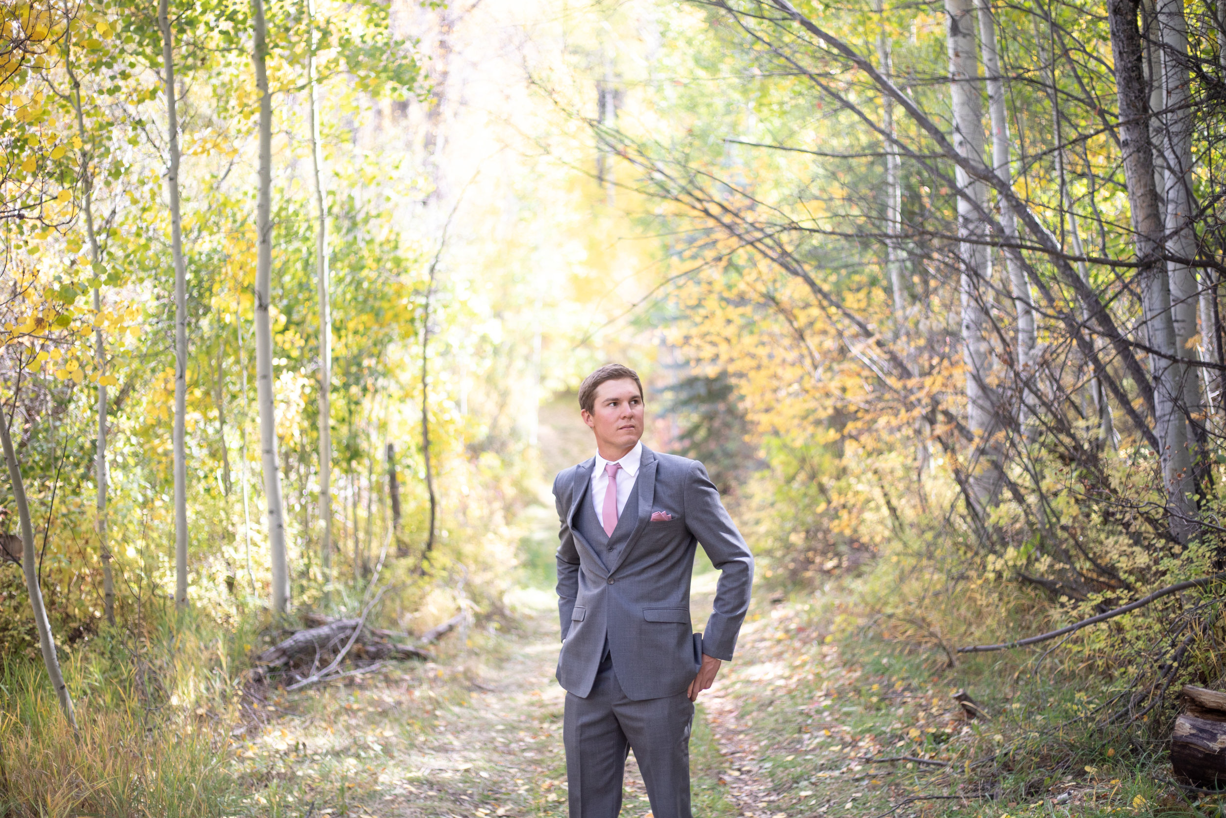groom wedding photo portrait durango colorado