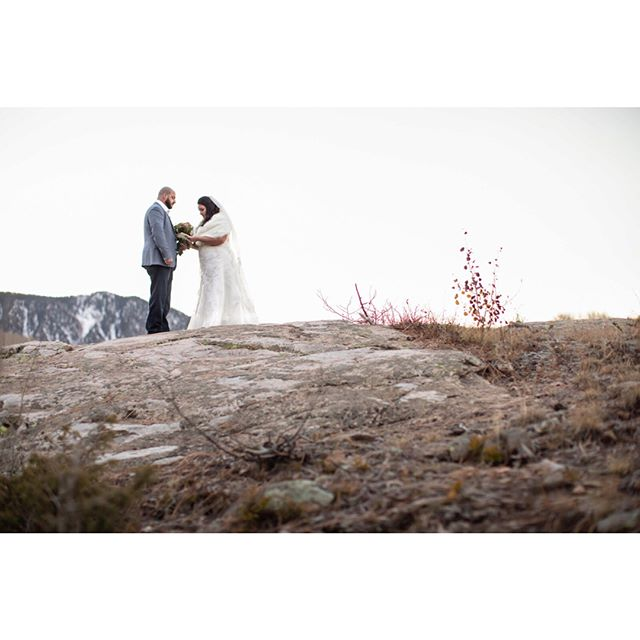 Bam! Some of our favorites from Naomi and Brice's elopement near Purgatory Ski Resort!  #wildernesswedding #elopementcollective #elopement #rmbcolorado @purgatoryresortweddings