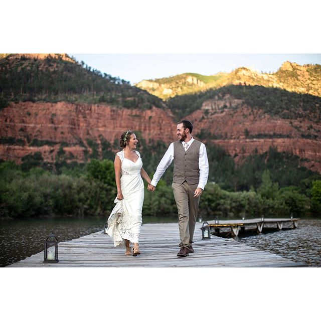 Woah, what an awesome wedding. A beautiful couple and an incredible venue @riverbendranchdurango . It doesn't get much better. More photos coming soon!