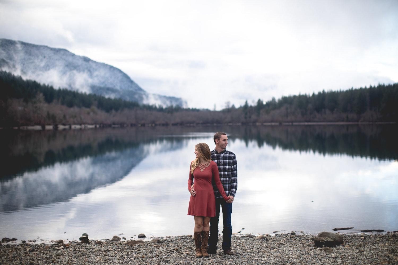 Katie & Chase - Rattlesnake Lake, Washington