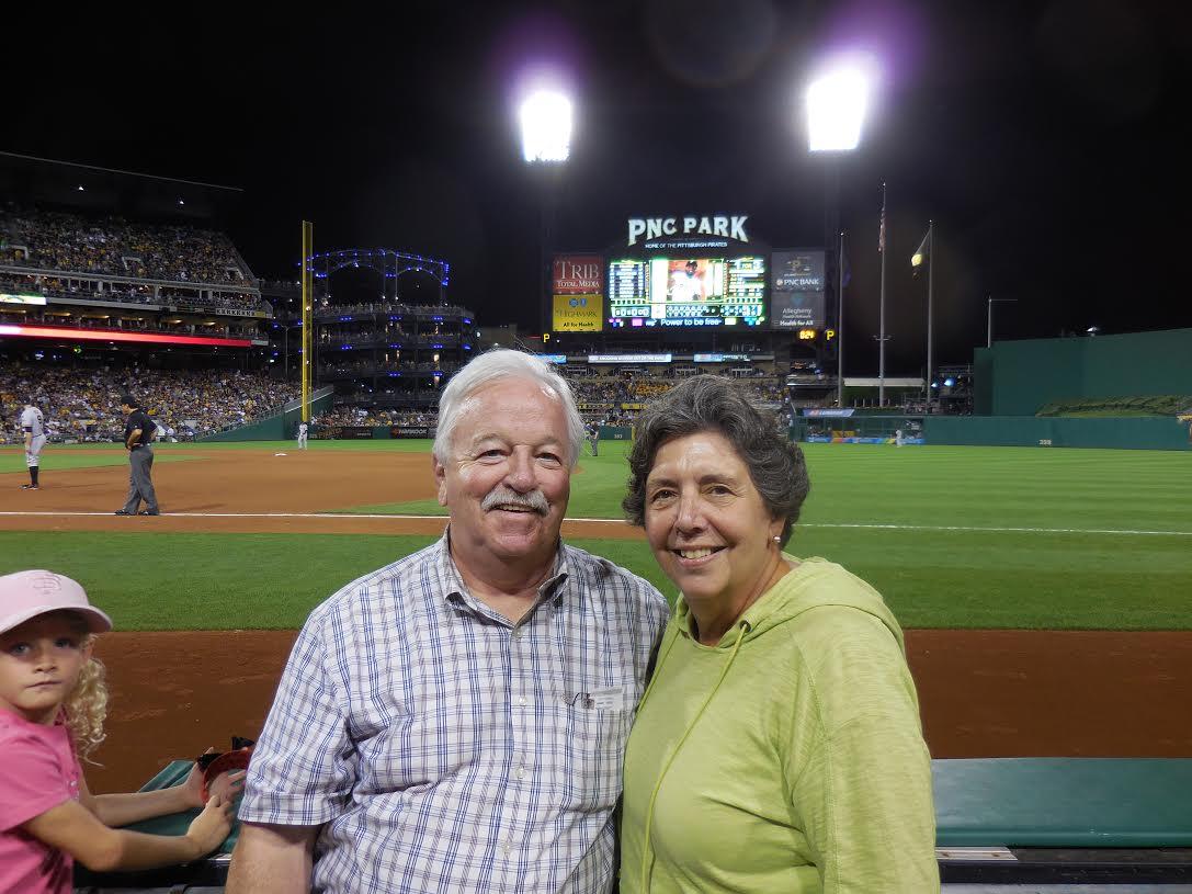 Jim and Kathie at PNC Park