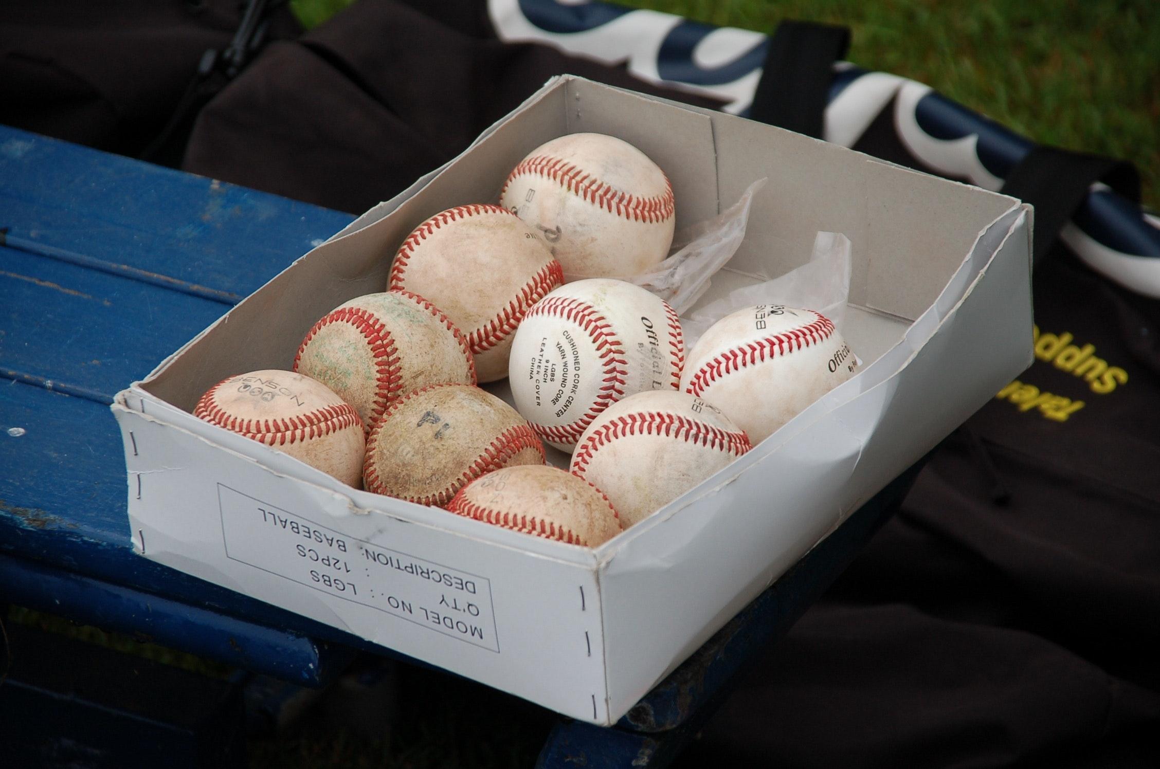 100 ball-baseball-bench-163390.jpg