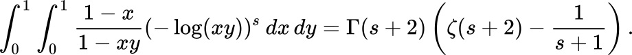 The Hadjicostas Formula