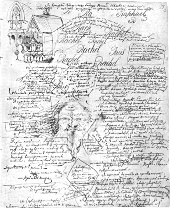 Doodling by Balzac