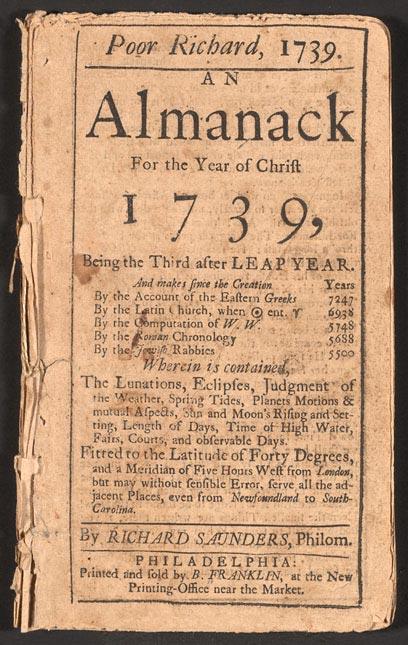 104 OB6 Poor_Richard_Almanack_1739 public domain.jpg