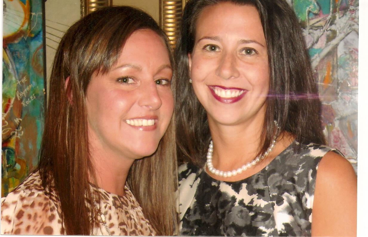 Rebecca with big sister Dr. Sarah O'Brien