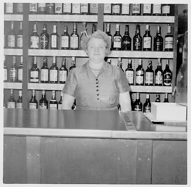 My mother, Mary O'Brien, at age 50 in 1956, was one of the first female clerks in a State Store.