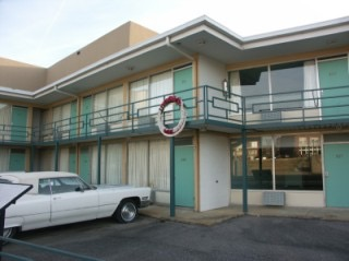 The hotel in Memphis where Dr. King was assassinated by James Earl Ray.