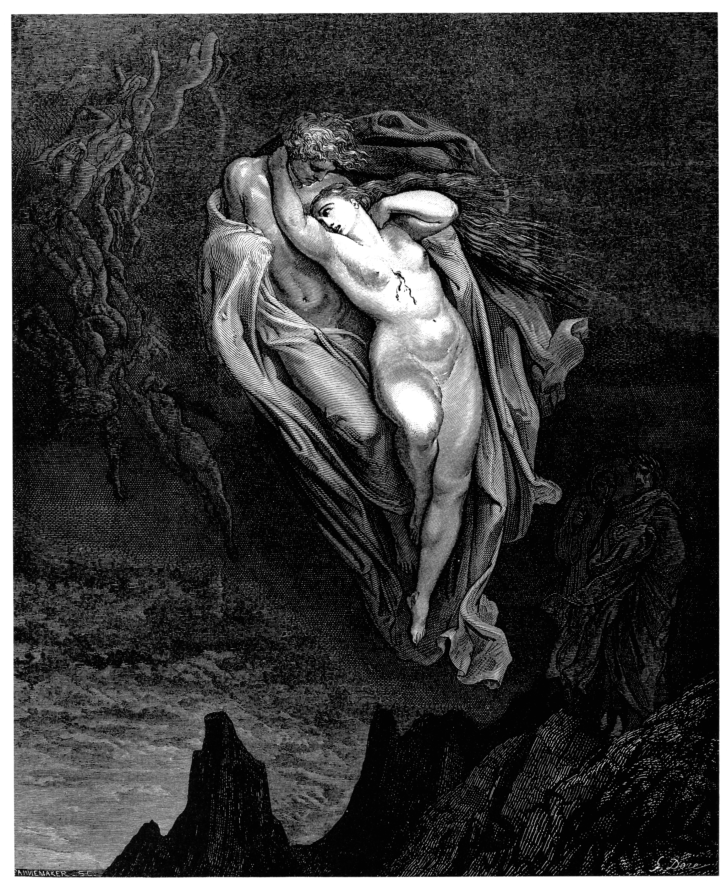 103 OB23 Gustave_Doré_-_Dante_Alighieri_-_Inferno_-_Plate_15_(Canto_V_-_Francesca_di_Rimini).jpg