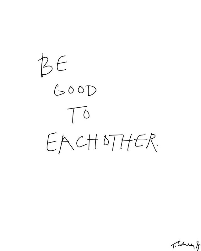 Be gentle. Be kind. Be good to each other. @shopshejustknows #ScheerSocial