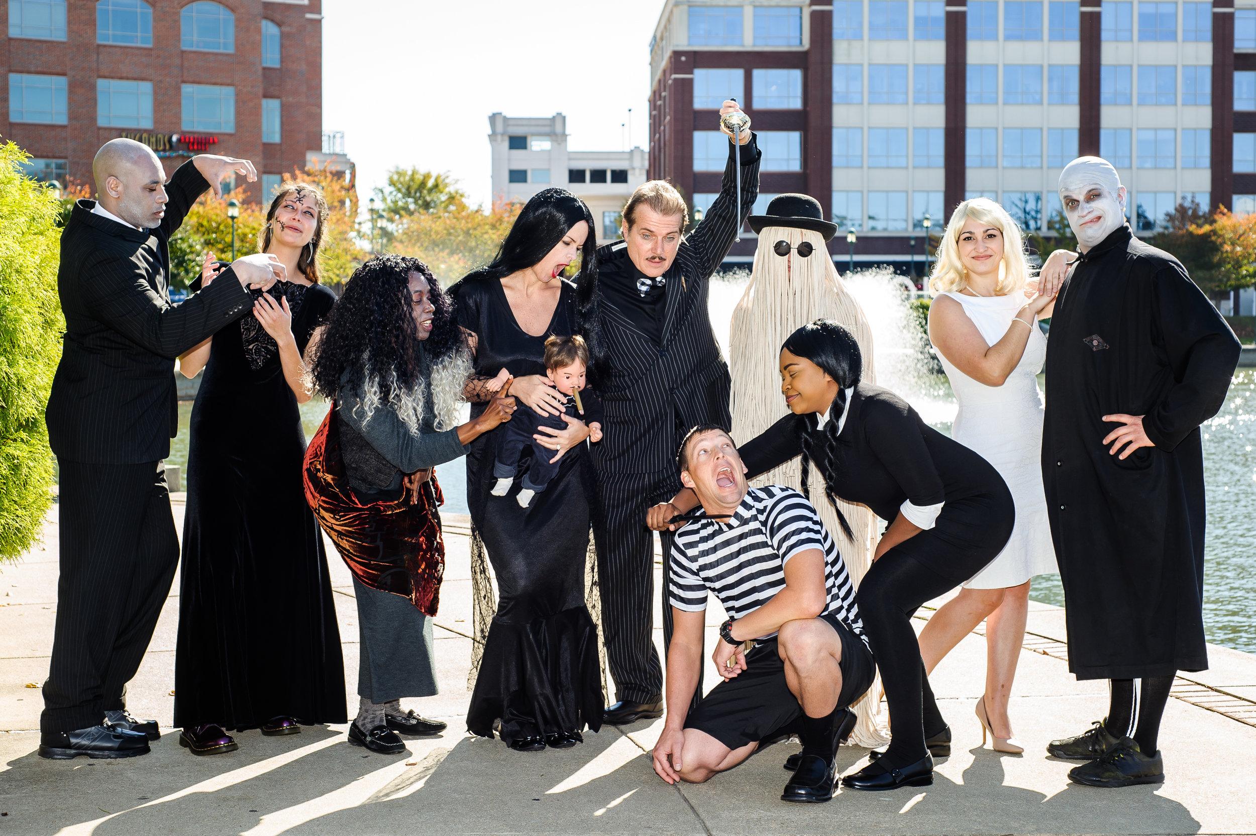 Team Charney Halloween 2015