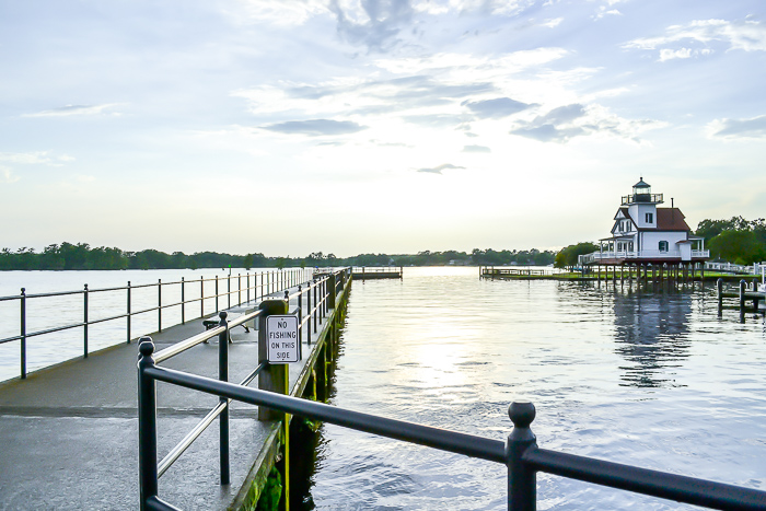 Roanoke River Light House - Edenton waterfront.
