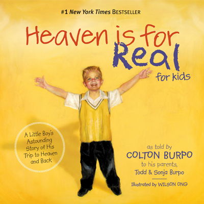 Colton Burpo came back from his trip to heaven with a very important message: Jesus really, really loves children. In an effort to reach even more families with this eternally significant story, this runaway bestseller is now told from Colton's perspective - from kid to kids! Children will receive the same comfort and assurance that so many adults have received from the original book, Heaven is for Real.