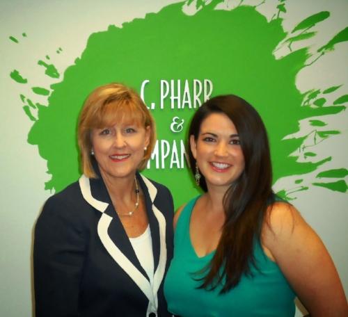 Cynthia Pharr Lee and Leah Ekmark Williams
