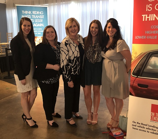 The Dala Communications team volunteers at On The Road Lending's Road Trip! fundraiser