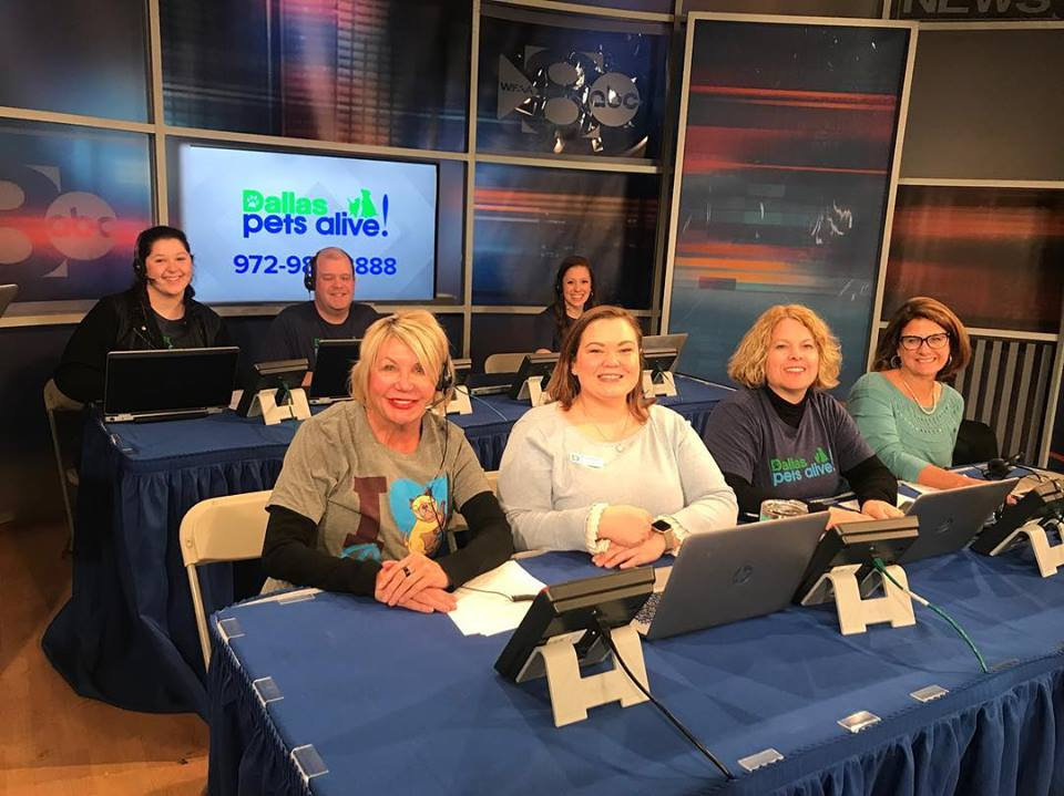 Here I am, front and center, ready to staff the phone bank.