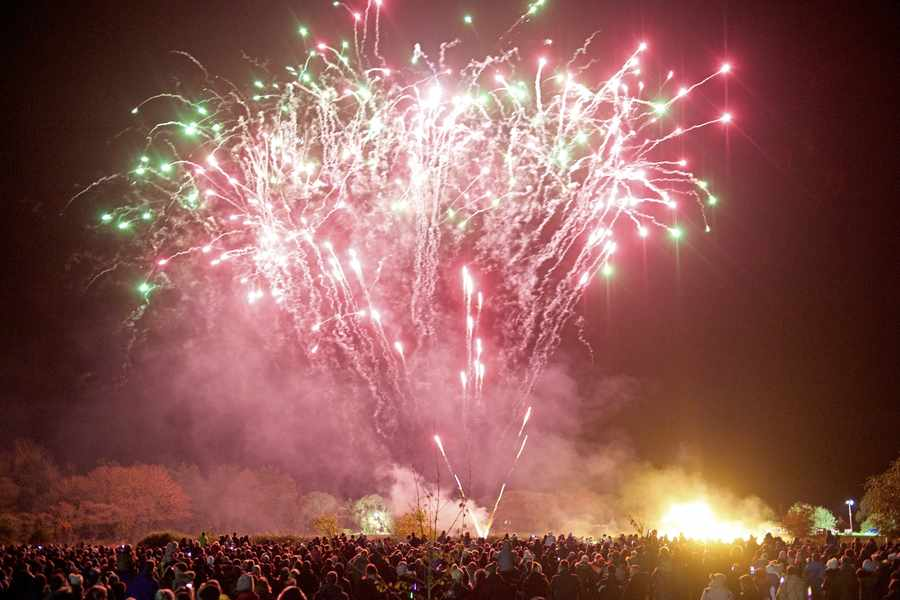 ST MARTIN'S BONFIRE & FIRE WORKS DISPLAY  - The Fireworks Display is an annual event held on St Martin's Village Green.