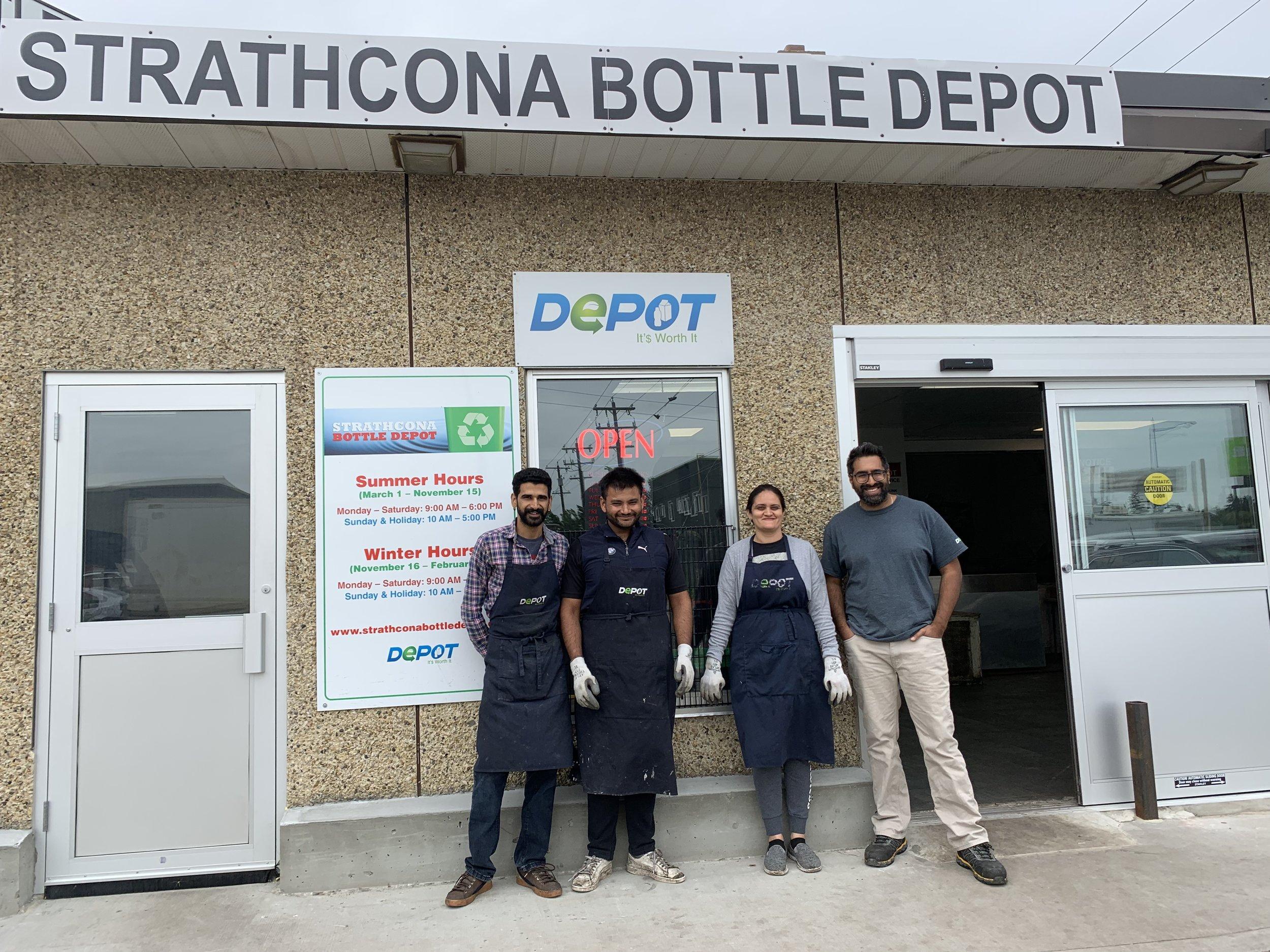 Strathcona Bottle Depot (Edmonton)